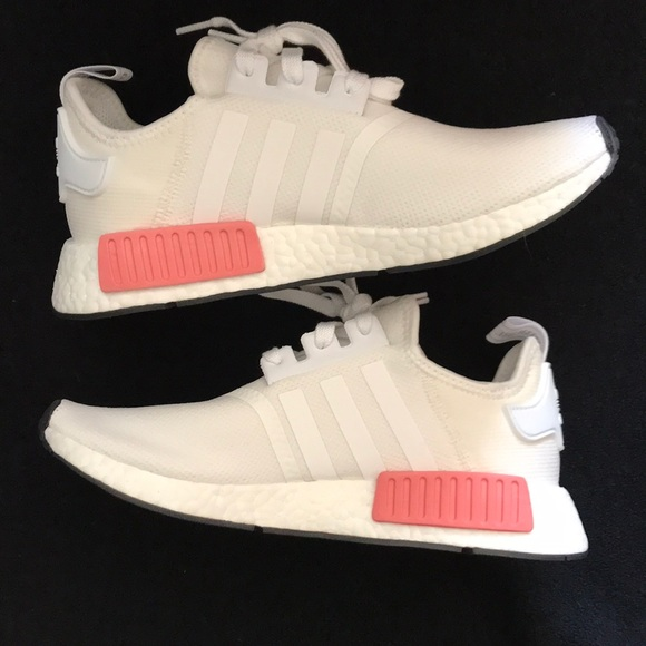 3061f7f24ede7 adidas Shoes - New Adidas NMD R1 - White   Pink - Women s
